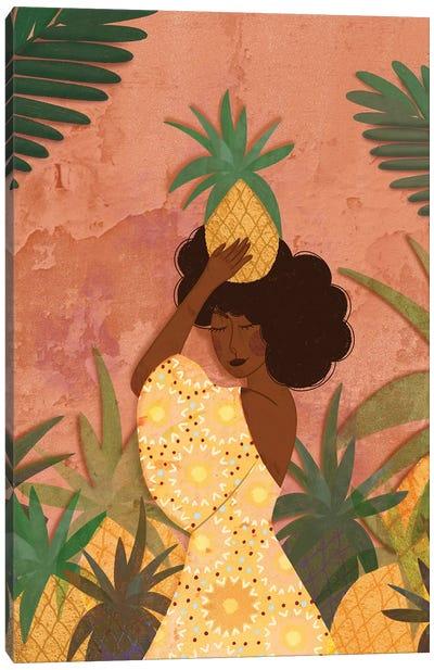 Pineapple Harvest Canvas Art Print