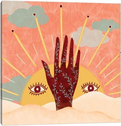 Spiritual Sun Canvas Art Print