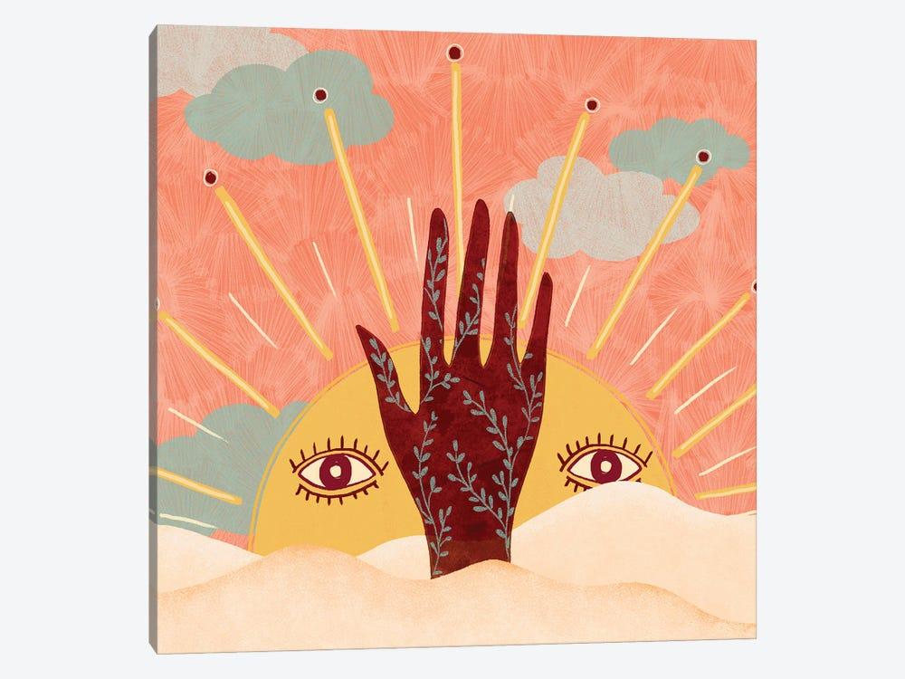 Spiritual Sun by Olivia Bürki 1-piece Canvas Art Print
