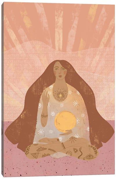 Sun Goddess Canvas Art Print