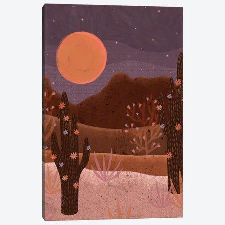 Blooming Desert Canvas Print #OBK5} by Olivia Bürki Art Print