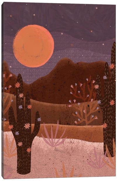 Blooming Desert Canvas Art Print