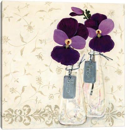 Inspired Purple Canvas Art Print