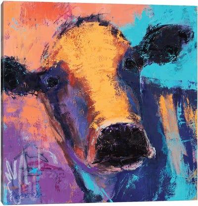 Purple Cow Canvas Art Print
