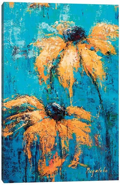 Black-Eyed Susans Canvas Art Print