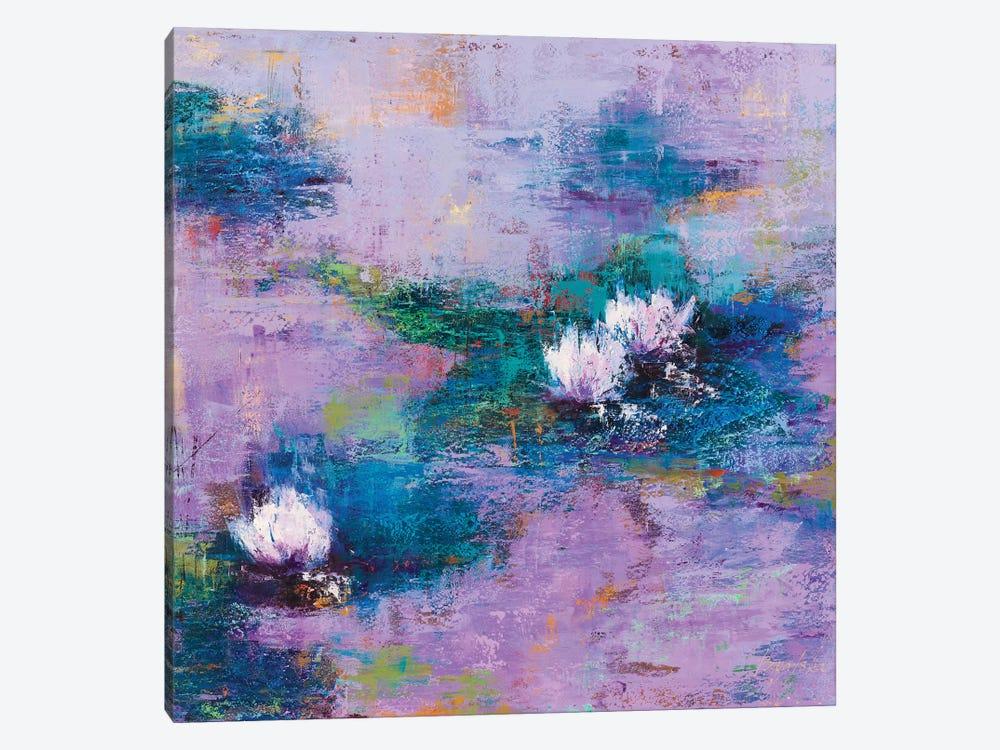 Purple Pond by Olena Bogatska 1-piece Canvas Wall Art