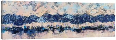 Sun And Stripes Canvas Art Print
