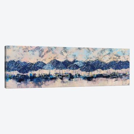 Sun And Stripes Canvas Print #OBO114} by Olena Bogatska Canvas Print