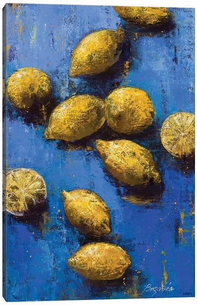 Lemons II Canvas Art Print