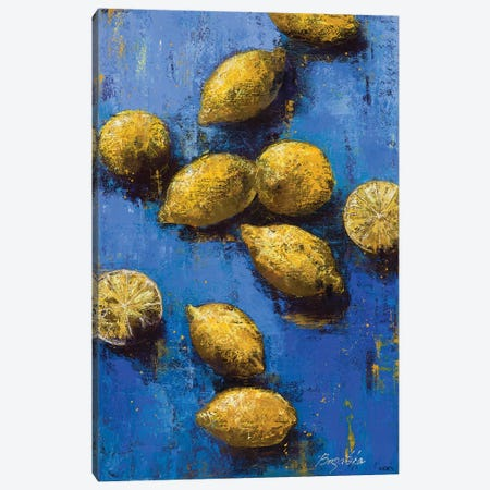 Lemons II Canvas Print #OBO115} by Olena Bogatska Canvas Print