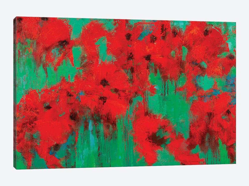 Poppy Field by Olena Bogatska 1-piece Canvas Art