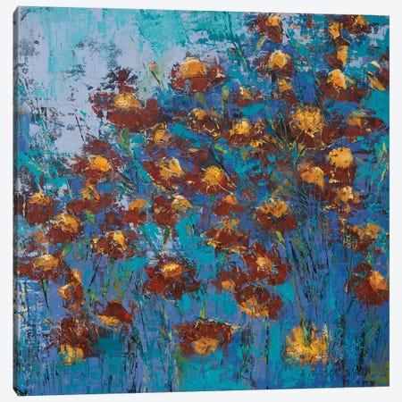 Blooming Mirage Canvas Print #OBO11} by Olena Bogatska Canvas Art Print
