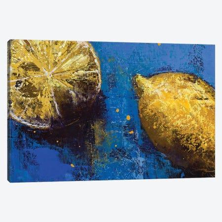 Lemons III Canvas Print #OBO120} by Olena Bogatska Canvas Print