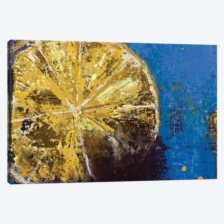 Lemons V Canvas Print #OBO122} by Olena Bogatska Canvas Art Print