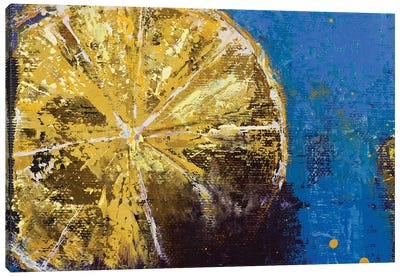 Lemons V Canvas Art Print