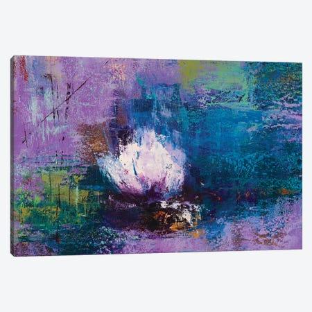 Water Lily Canvas Print #OBO124} by Olena Bogatska Canvas Art