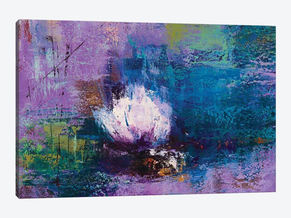 Water Lily by Olena Bogatska 1-piece Canvas Print