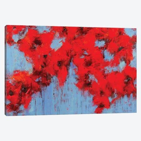 Poppy III Canvas Print #OBO126} by Olena Bogatska Canvas Wall Art