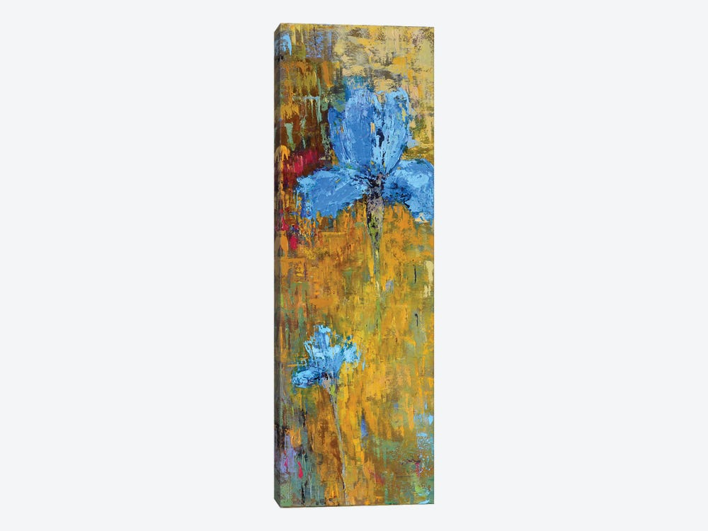 Blue Iris by Olena Bogatska 1-piece Canvas Print