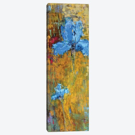 Blue Iris Canvas Print #OBO12} by Olena Bogatska Canvas Print
