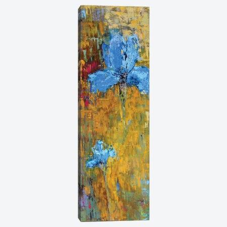 Blue Iris Canvas Print #OBO12} by Olena Bogatska Canvas Print