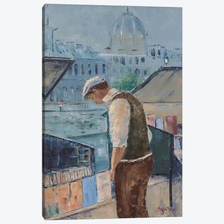 Book Market Canvas Print #OBO13} by Olena Bogatska Canvas Print