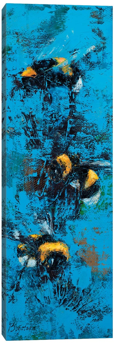 Bumblebees Canvas Art Print