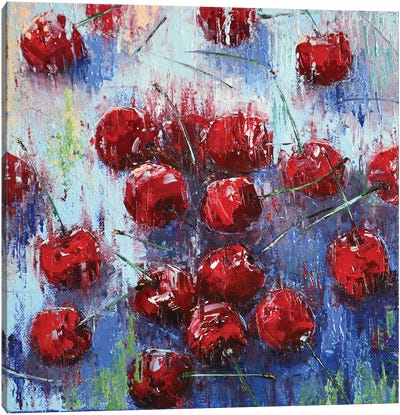 Cherry I Canvas Art Print