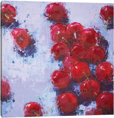 Cherry IV Canvas Art Print