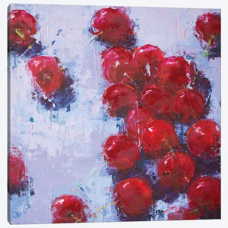 Cherry IV Canvas Print #OBO18} by Olena Bogatska Canvas Print