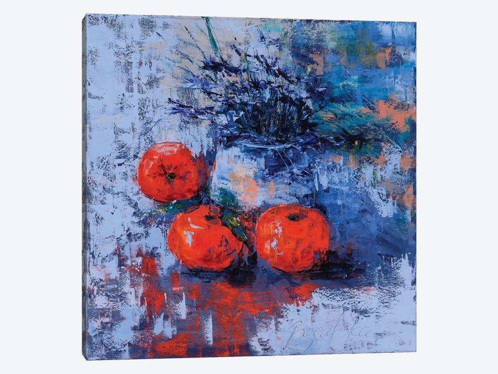 Clementines by Olena Bogatska 1-piece Canvas Artwork
