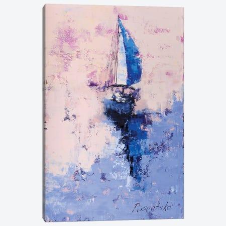 Evening Sail Canvas Print #OBO28} by Olena Bogatska Canvas Art