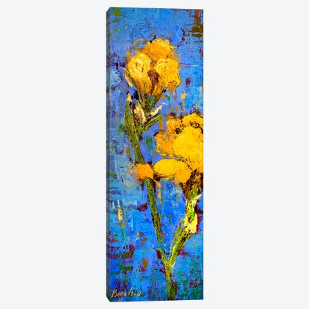 Gold Iris Canvas Print #OBO33} by Olena Bogatska Canvas Print