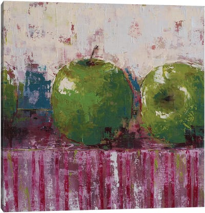 Green Apples Canvas Art Print