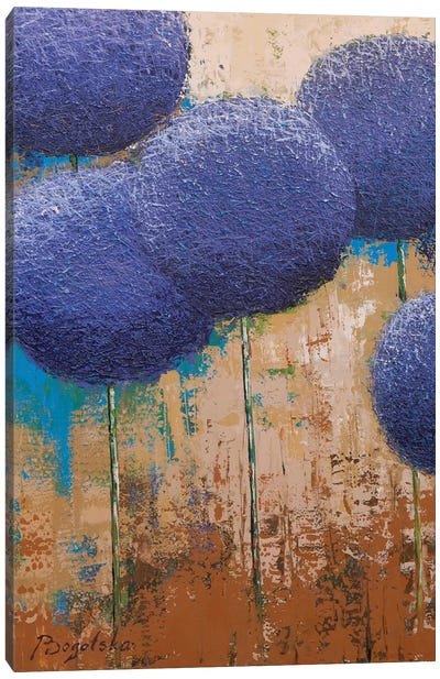 Allium I Canvas Art Print