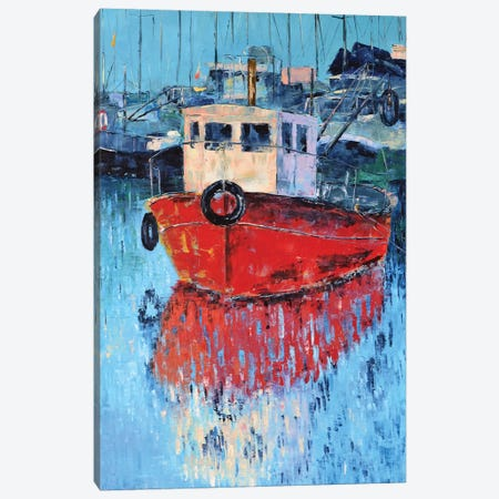 Jaffa Canvas Print #OBO40} by Olena Bogatska Canvas Artwork