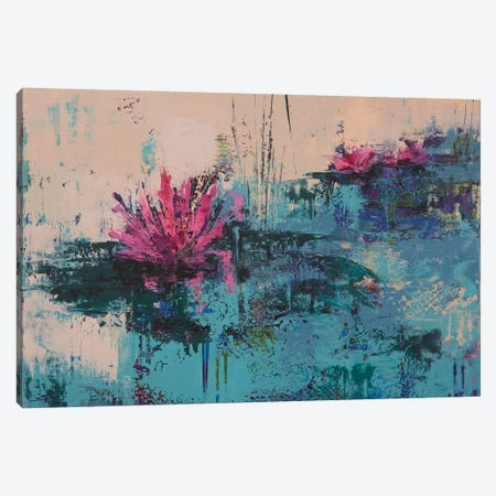 Lily I Canvas Print #OBO42} by Olena Bogatska Canvas Art