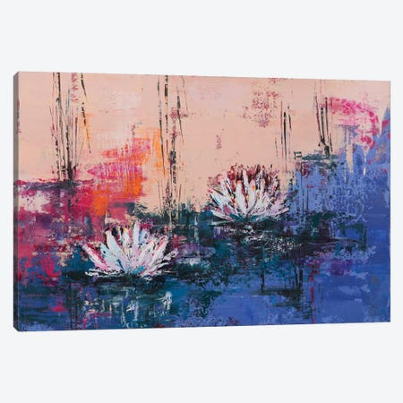 Lily II Canvas Print #OBO43} by Olena Bogatska Canvas Artwork
