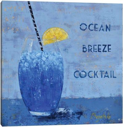 Ocean Breeze Cocktail Canvas Art Print
