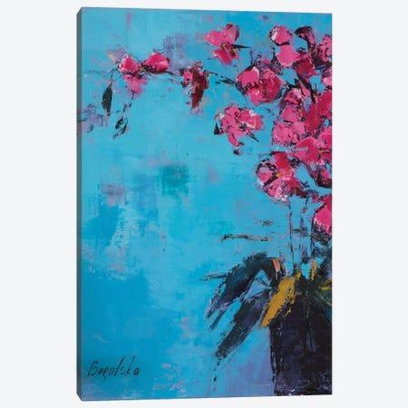 Orchid I Canvas Print #OBO49} by Olena Bogatska Canvas Wall Art