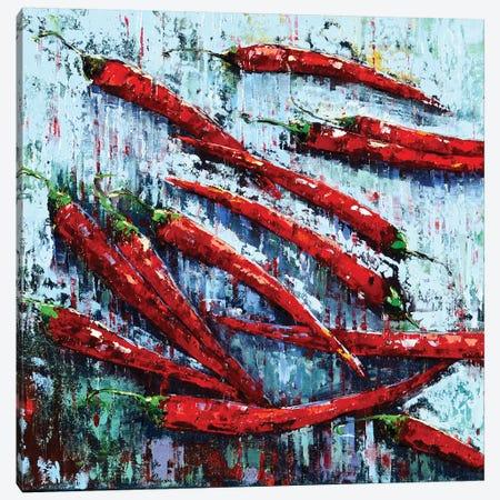 Peppers II Canvas Print #OBO51} by Olena Bogatska Canvas Art Print