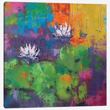 Pond I Canvas Print #OBO53} by Olena Bogatska Art Print