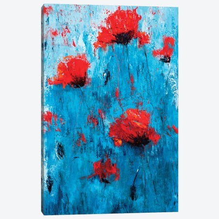 Poppyseed I Canvas Print #OBO54} by Olena Bogatska Canvas Art