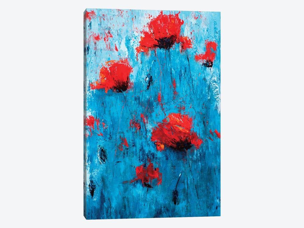 Poppyseed I by Olena Bogatska 1-piece Canvas Print