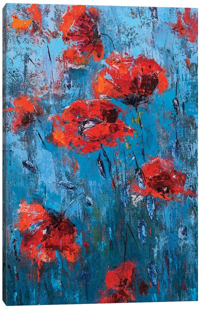 Poppyseed II Canvas Art Print