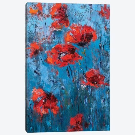 Poppyseed II Canvas Print #OBO55} by Olena Bogatska Canvas Art
