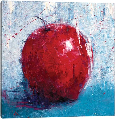 Red Apple Canvas Art Print