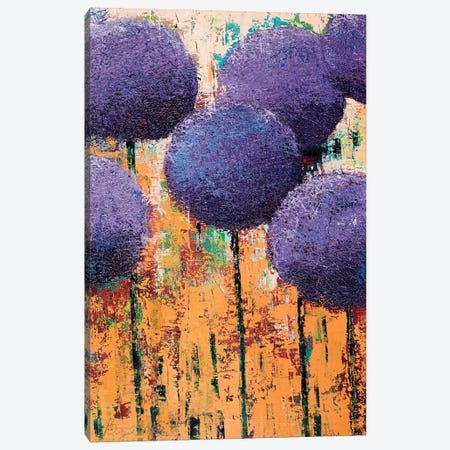 Allium III 3-Piece Canvas #OBO5} by Olena Bogatska Canvas Art Print