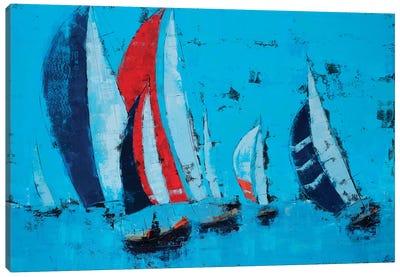 Sail Race Canvas Art Print