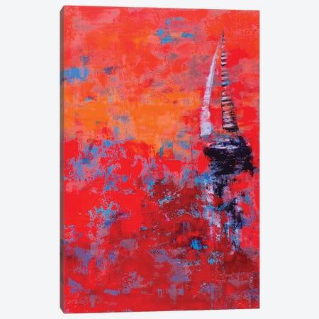 Sail III Canvas Print #OBO64} by Olena Bogatska Art Print